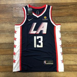 NWT Paul George LA Clippers NBA City Jersey 🔥🔥🔥